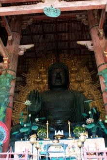 The world's largest bronze statue of the Buddha Vairocana.