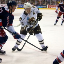 Hershey Bears Assistant Captain Garrett Mitchell