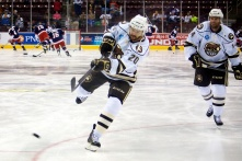 Hershey Bears Assistant Captain Jeff Taffe and Center Matt Watkins