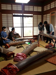 Japan's national pasttimes: Koto playing and being ninjas.