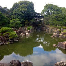 The royal pond where the Emperor's royal fish swam.