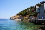 The coast of Hydra, Greece