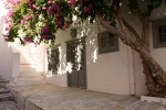 Perfect island shade in Hydra, Greece