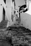 Upstairs in Hydra, Greece