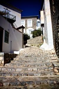 Island Stairs in Hyrda, Greece