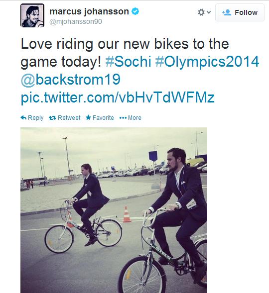 A Swedish biker gang in Sochi.